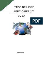 Trtado de Libre Comercio de Èru y Cuba