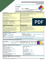 Rojo de Metilo -----Hds Formato 13 Secciones, Qmax