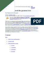 The Wikimedia Foundation Best Films