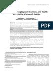 AJIM_Benach - Immigration, Employment Relations, And Health