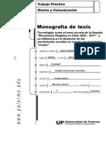 """Monografía de tesis Tecnologías como la herramienta de la llamada """"Revolución Pingüina"""" (2006 – 2011)  y su influencia en el despertar de los movimientos en Chile"""