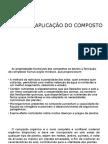 Uso e Aplicação da compostagem