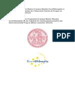 Erasmus Master Mundus EuroPhilosophie Prague Hiver 2015 WEB