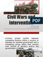 Civil Wars and Interventions
