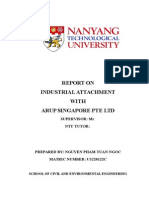 Report on Industrial Attachment (1)