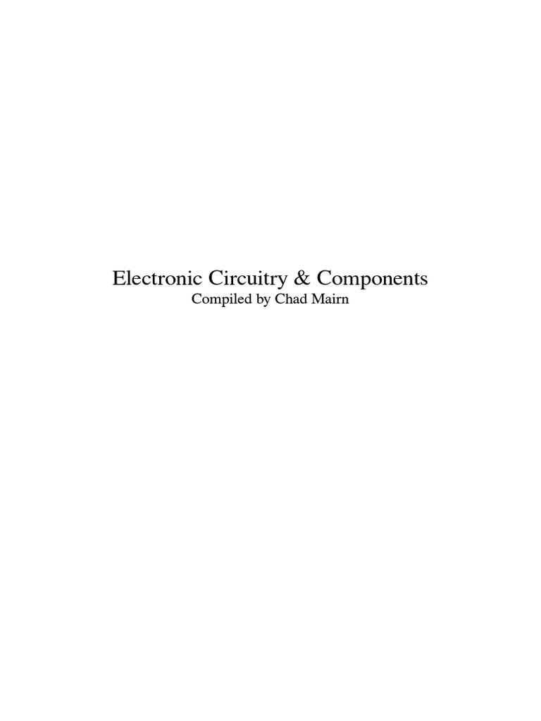 Electronic Circuitry Components Component Sidac Basic Operation Circuits