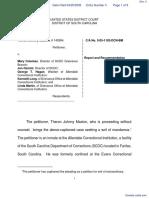 Maxton v. Coleman et al - Document No. 4