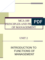 MCA 109 Unit 2 Part i Planning