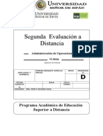 2do Evaluación a Distancia ADO 2014 I_V2