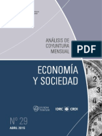ECONOMIA Y SOCIEDAD - N 29 - ABRIL 2015 - PARAGUAY - PORTALGUARANI