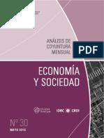 ECONOMIA Y SOCIEDAD - N 30 - MAYO 2015 - PARAGUAY - PORTALGUARANI
