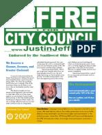Justin Jeffre for Cincinnati City Council