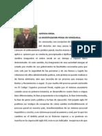 La Investigacion Penal en Venezuela