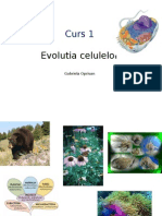 Curs 1_Evolutia Celulelor