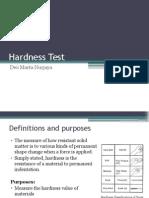 DT- Hardness Test