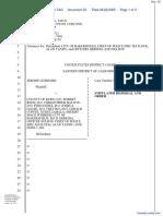 Goddard v. County of Kern, et al - Document No. 33