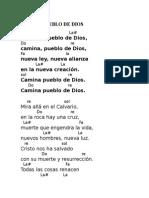 Domingo de Ramos Con Acordes Coro 12