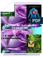 Informe de Actividades 2015 1er Semestre.