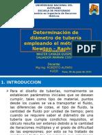DIAMETRO DE TUBERIA.pptx