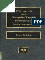 ink and varnish formulations