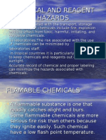 Chemical and Reagent Hazards