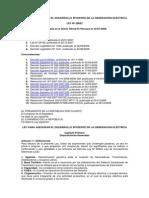 Legislacion-V3qz6zo6vgznhzz-Ley Nº 28832, Ley Para Asegurar El Desarrollo Eficiente de La Generación Eléctrica