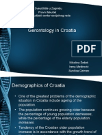 Gerontology in Croatia
