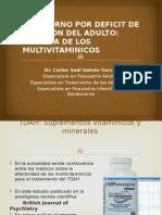 Tdah Suplementos Multivitaminicos Evidencia Actual