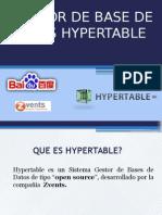 G.B.D NoSQL HyperTable