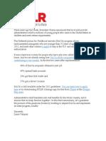La Raza DACA Email