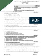 DREPT PENAL-Tribunal-Proba Teoretica-grila Nr. 3