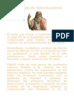 comentario de filosofia de Platon. Jesus
