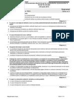DREPT PENAL-PICCJ-Proba Teoretica-grila Nr. 3