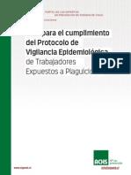 Guia Para Cumplimiento de Protocolo de Plaguicida Agricola