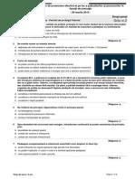 DREPT PENAL-P. Tribunal-Proba Teoretica-grila Nr. 2