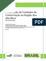 Proposta de Unidades de Conservação Em Abrolhos Bahia 2012
