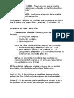 NOTAS PARA Examen 03 (Introducción Biblica)