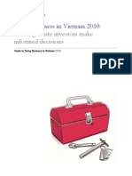 Doing Business in Vietnam 2010