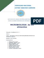 Microbiologia de Los Alimentos Practica 1