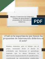 Modulo 2 Intervención Didáctica 4