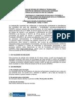 [Edital] Tutor a Distância - 2015-2