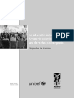 La Educación en La Amazonia Colombiana FParte1