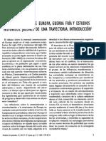 Americanizacion de EUROPA, GUERRAS Y ESTUDIOS HISTORICOS