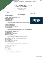 ALEA NORTH AMERICA v. SALEM MASONRY CO., et al - Document No. 51