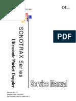 Manual de Servicio Doppler Edan Sonotrax