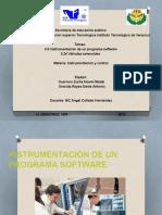 Instrumentación de Un Programa Software