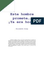Elizabeth Youn - Este Hombre Promete...Ya Era Hora!