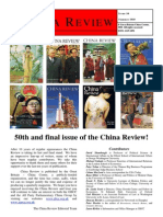 China Review - last edition