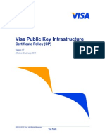 Visa Public Key Infrastructure Certificate Policy