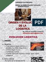 1 Origen y Evolución de La Logística